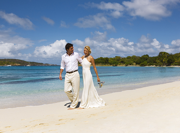Destination Wedding at Caneel Bay Resort